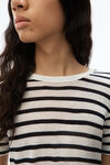 STRIPED SLUB JERSEY CLASSIC T-SHIRT